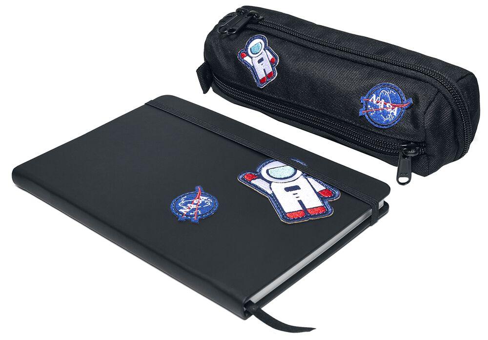 NASA - Notizbuch und Etui
