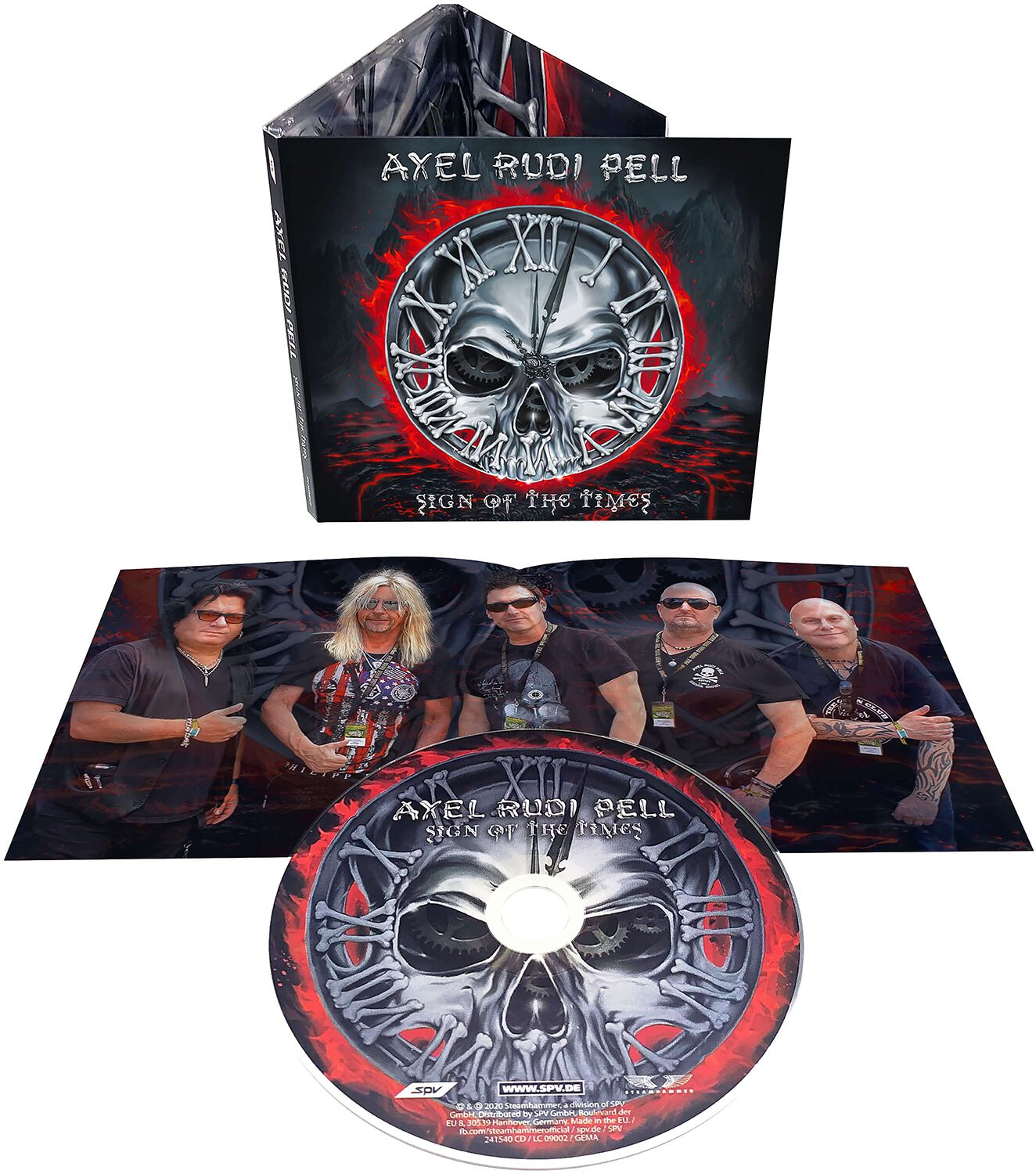 Image of Axel Rudi Pell Sign of the times CD Standard