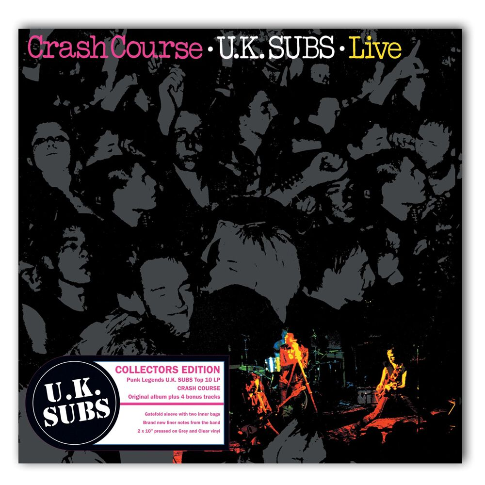 Crash Course Live Uk Subs Lp Emp