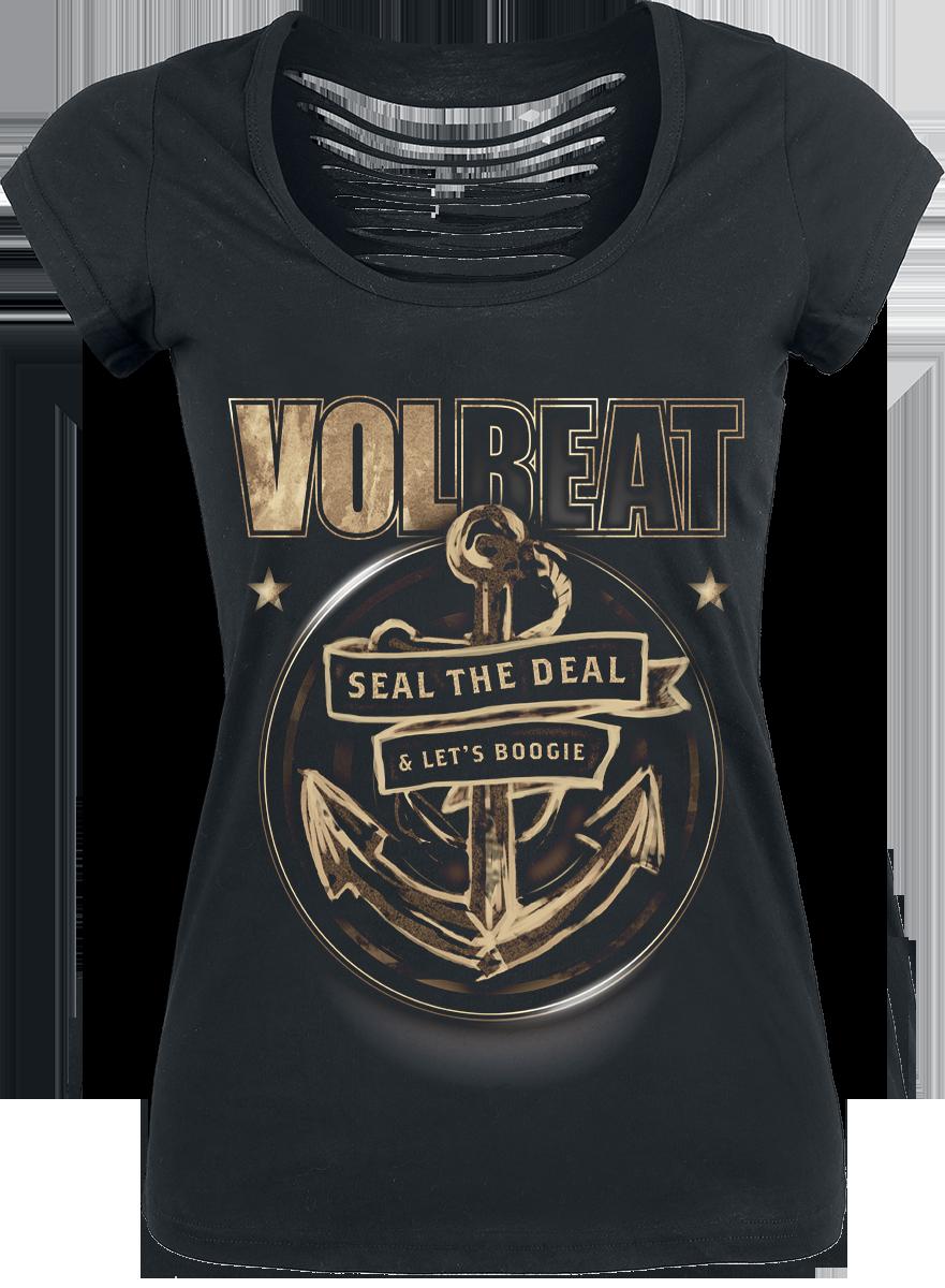 Volbeat - Anchor - Girls shirt - black image
