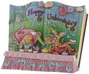 Happy Unbirthday (Storybook Alice im Wunderland Tea Party Figurine)