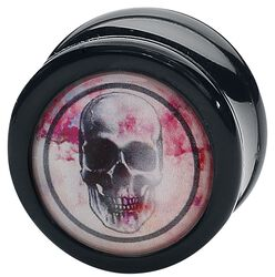 Rose Punch - Skull Black Plug
