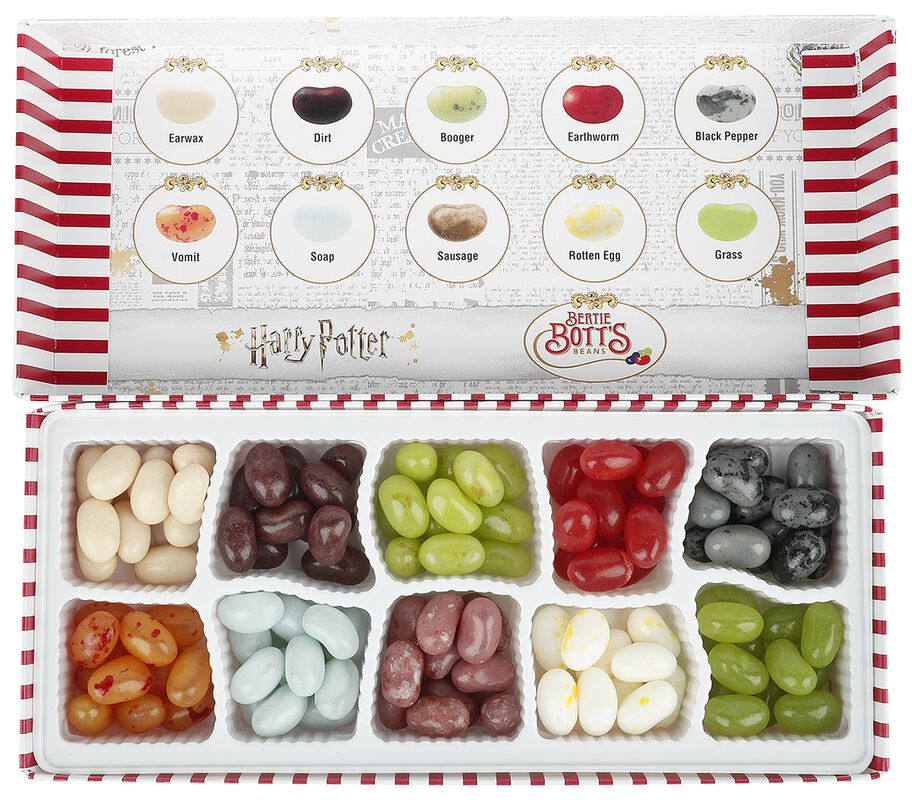 Bertie Bott's Bohnen jeder Geschmacksrichtung - Geschenkbox
