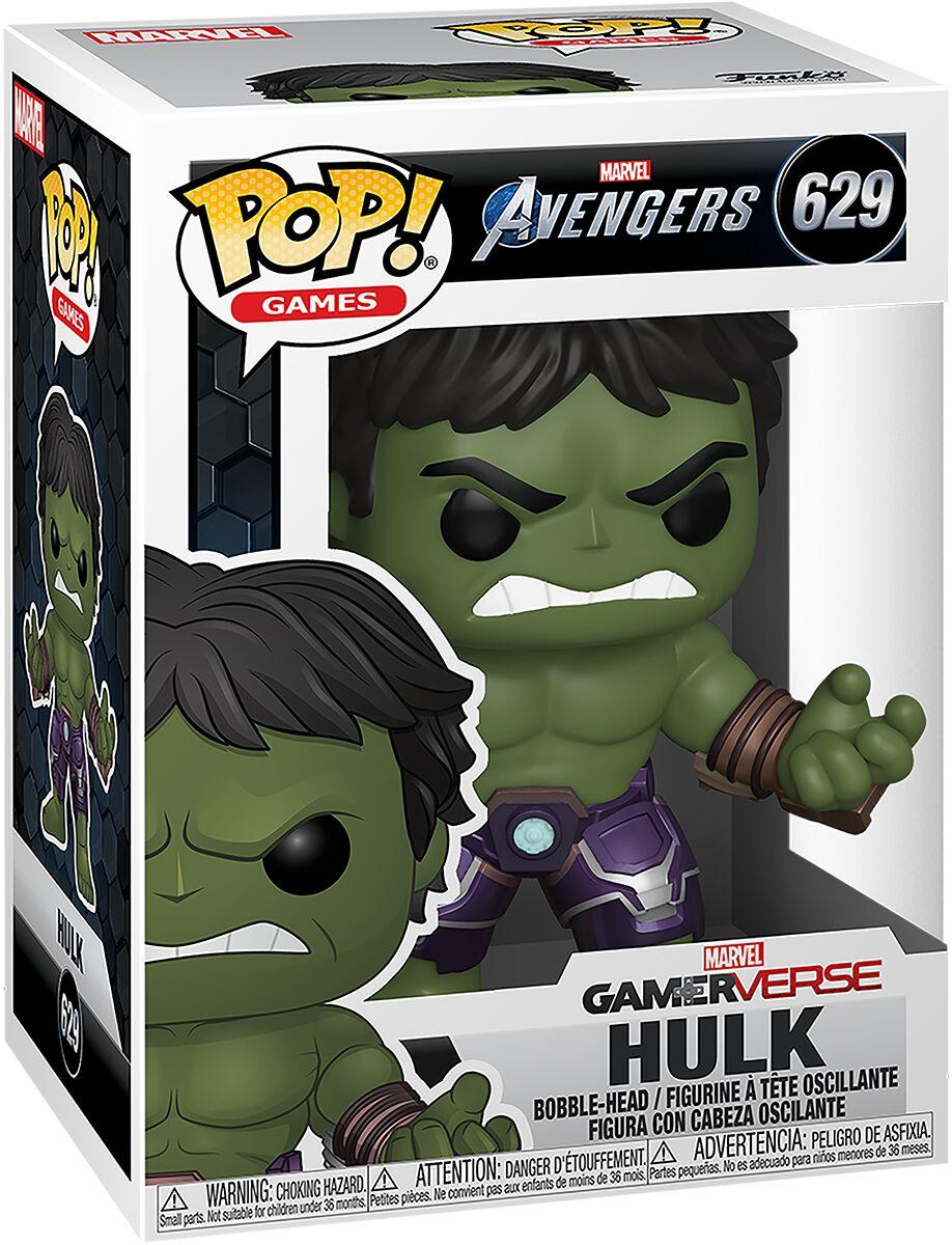 Marvel Avengers Hulk Vinyl Figur 629 Funko Pop! multicolor 47759