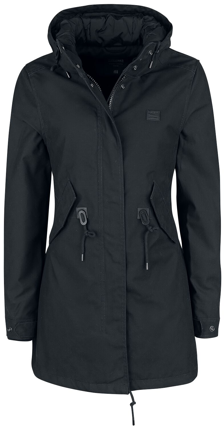 Jacken für Frauen - Vintage Industries Indy Ladies Parka Girl Winter Jacke schwarz  - Onlineshop EMP