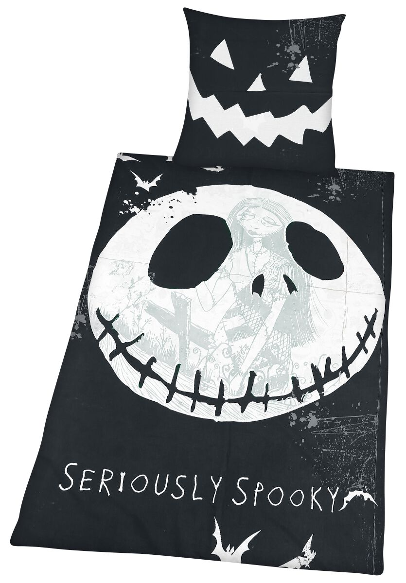 Seriously Spooky The Nightmare Before Christmas Bettwäsche Emp