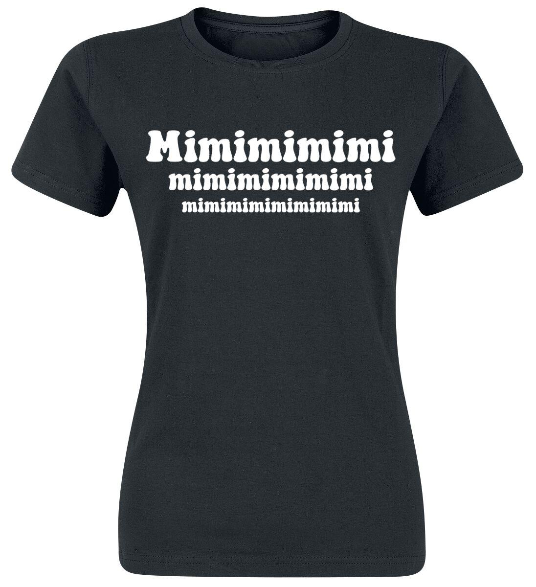 Mimimimimi T-Shirt schwarz
