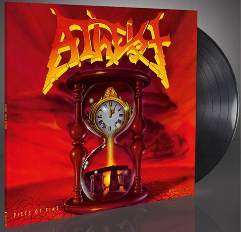 Image of Atheist Piece of time LP Standard