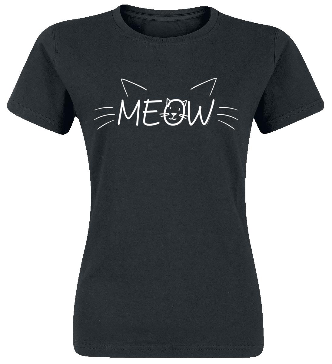 MEOW -  - Girls shirt - black image
