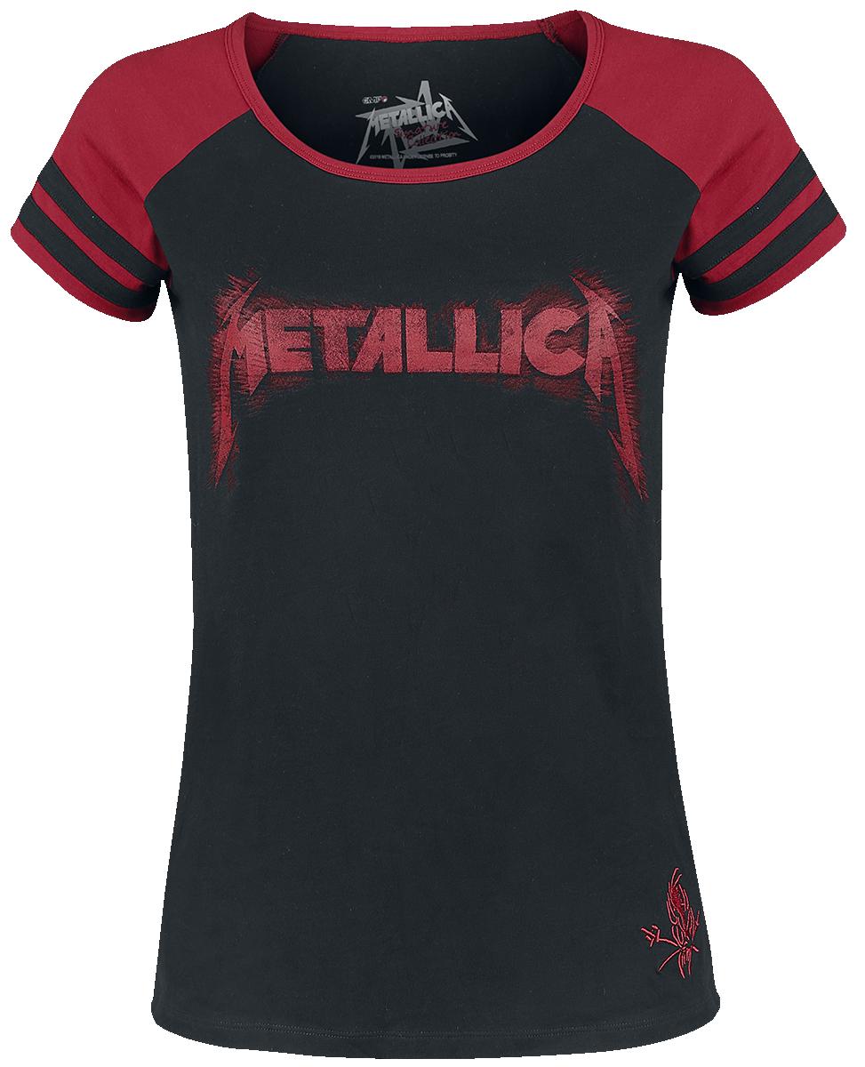 Metallica - EMP Signature Collection - Girls shirt - black-red image