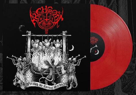 Image of Archgoat Worship the eternal darkness LP rot