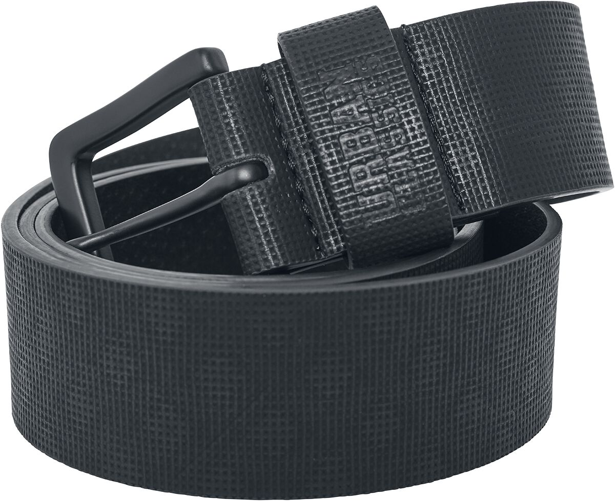 Urban Classics Fake Leather Belt Gürtel schwarz TB2173 black