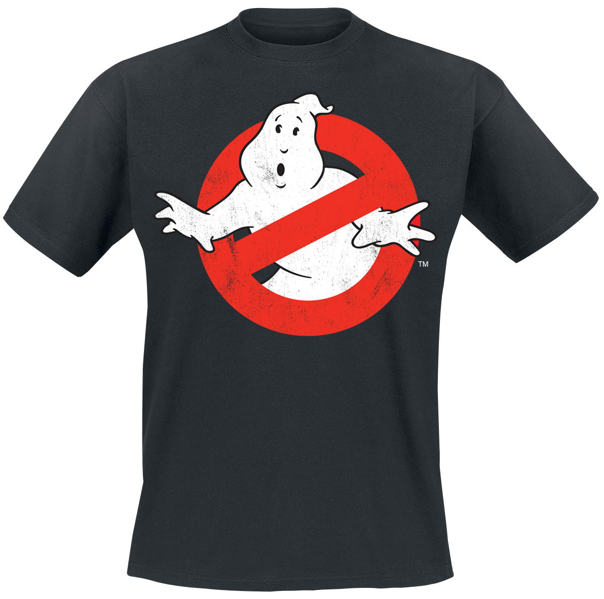 Ghostbusters - Distressed Logo - T-Shirt - black image