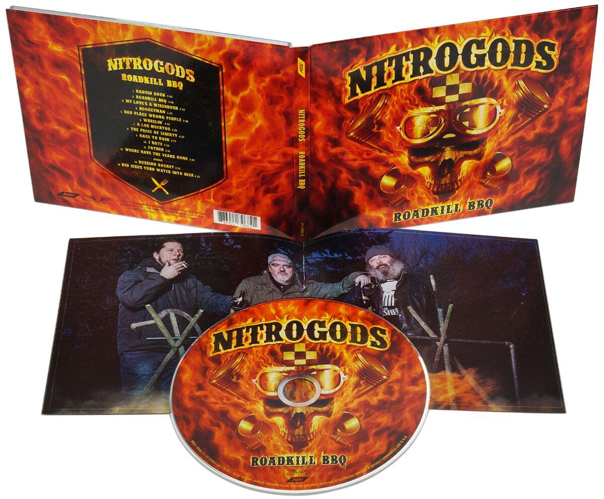 Nitrogods Roadkill BBQ CD multicolor MAS 1181