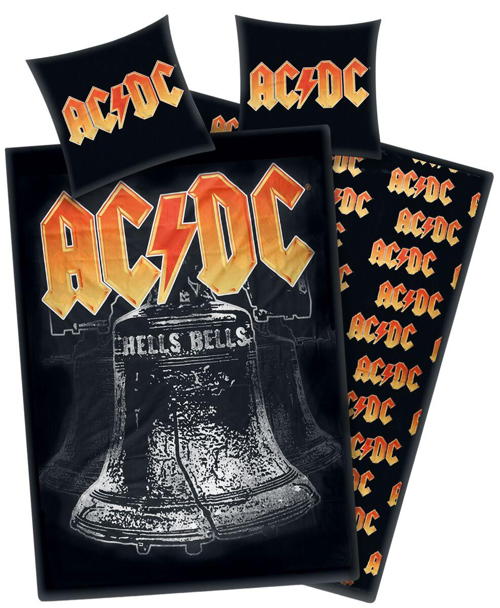 AC/DC Hells Bells  Bettwäsche  schwarz/gelb