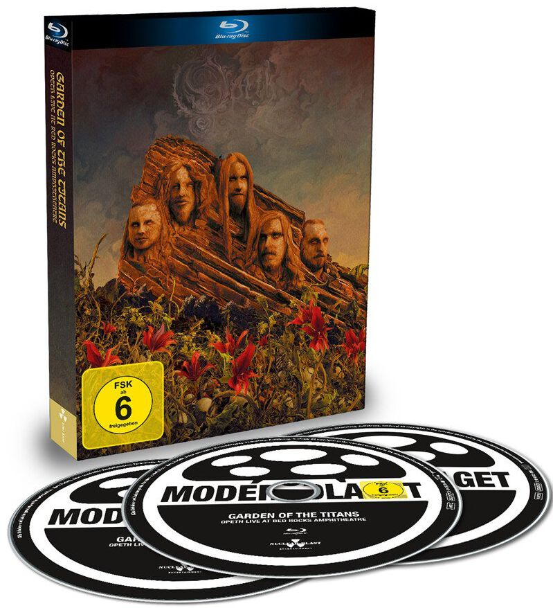 Image of Opeth Garden of the titans (Live at Red Rocks Amphitheater) Blu-ray & 2-CD Standard