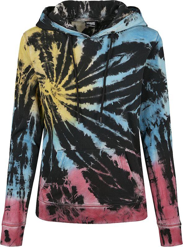 Ladies Tie Dye Hoody