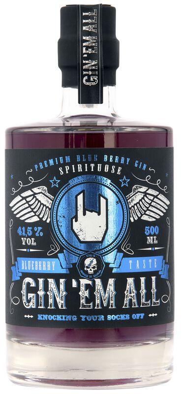 Premium Infused Gin - Blueberry Taste
