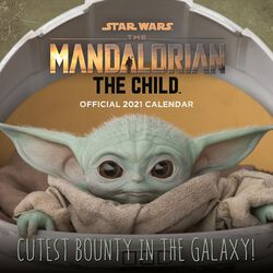 Wandkalender 2021 - The Mandalorian - The Child