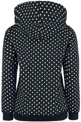 Dots Hooded Zip-Jacket