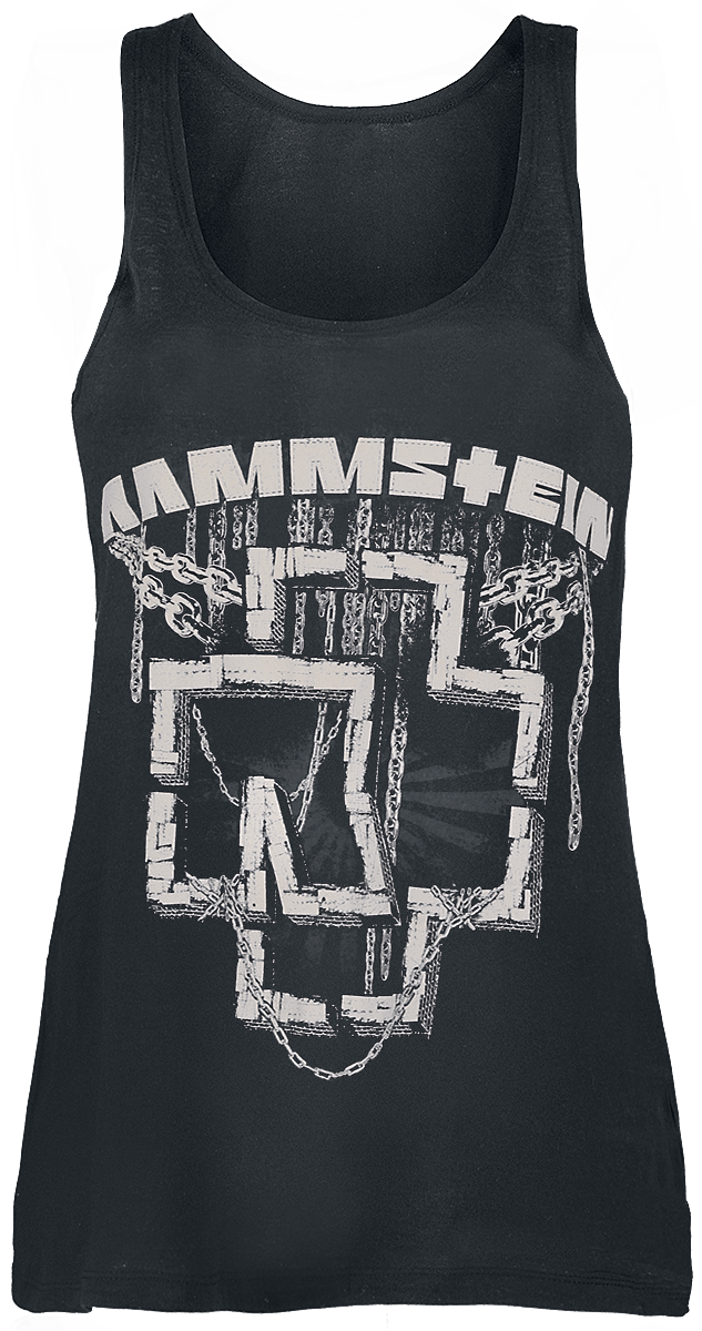 Rammstein - In Ketten - Girls Top - black image