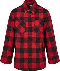 Boys Checked Flanell Shirt