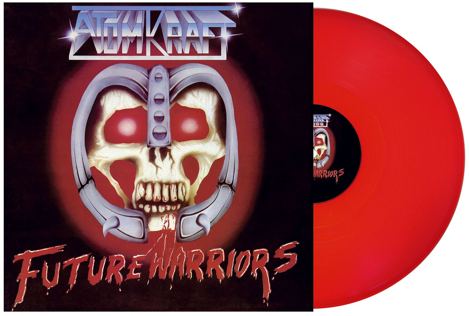 Image of Atomkraft Future warriors LP rot