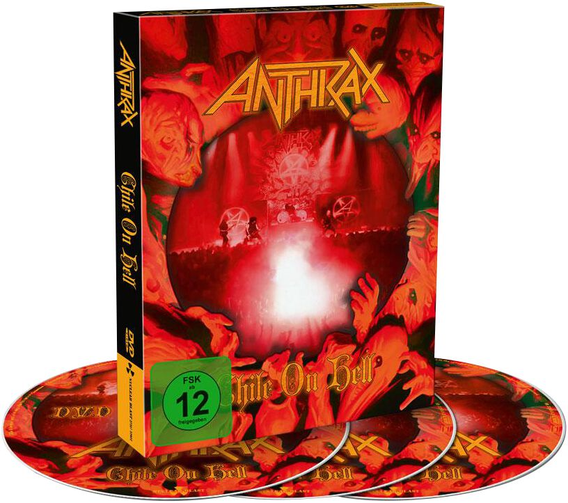 Image of Anthrax Chile on hell DVD & 2-CD Standard