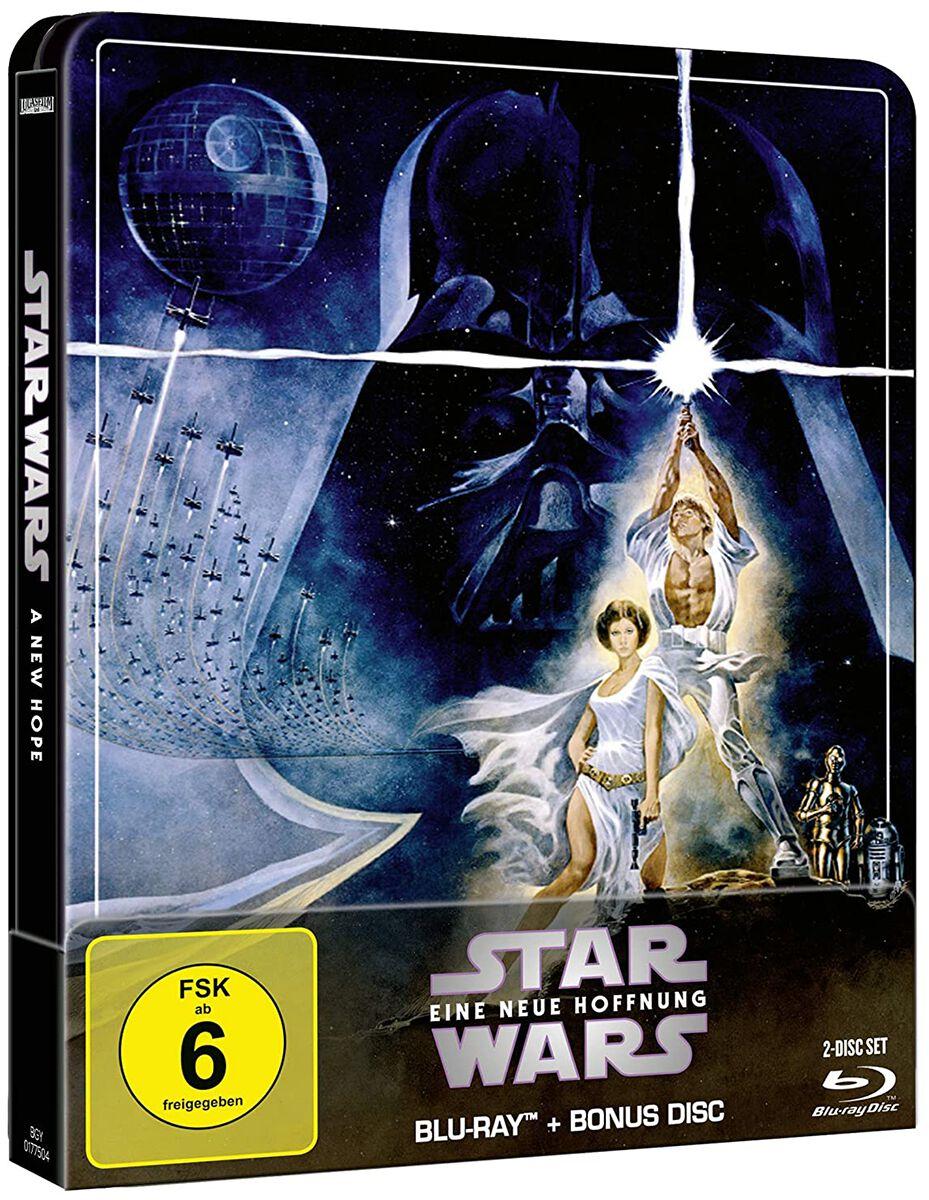 Image of Star Wars Episode 4 - Eine Neue Hoffnung 2-Blu-ray Standard