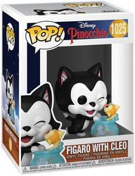 80th Anniversary - Figaro with Cleo Vinyl Figur 1025