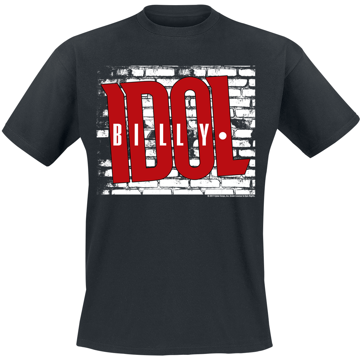 Billy Idol - Logo - T-Shirt - black image
