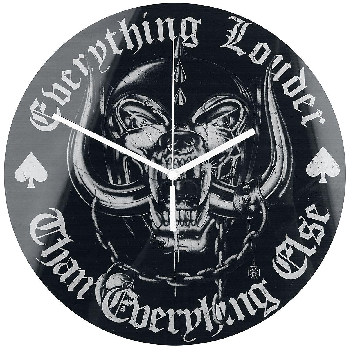 Motörhead Everything Louder  Wanduhr  Standard