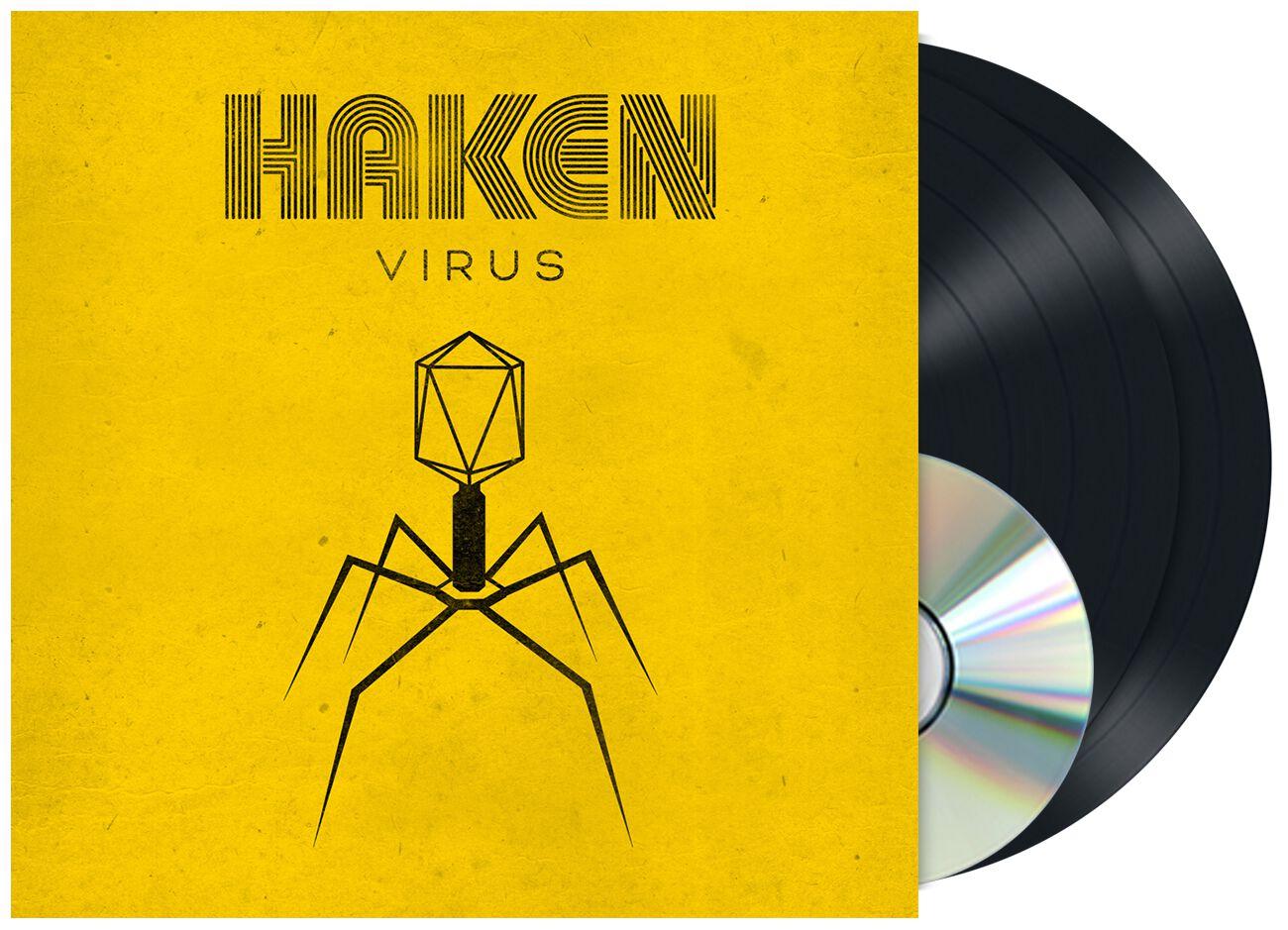 Image of Haken Virus 2-LP & CD Standard