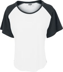 Ladies Raglan HiLo Tee