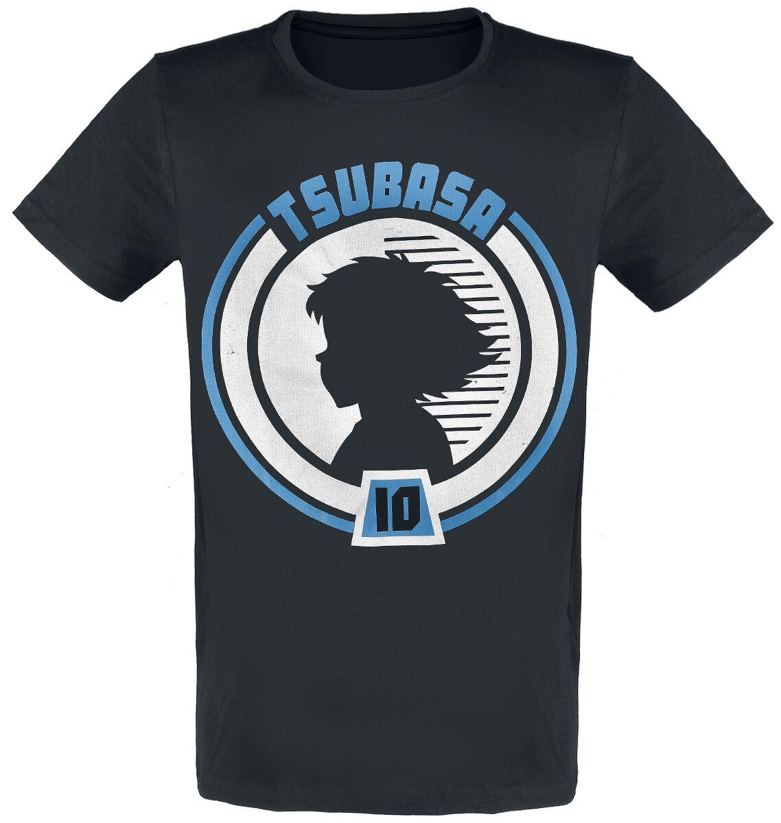 Captain Tsubasa Tsubasa Badge T-Shirt schwarz TS356311CTS
