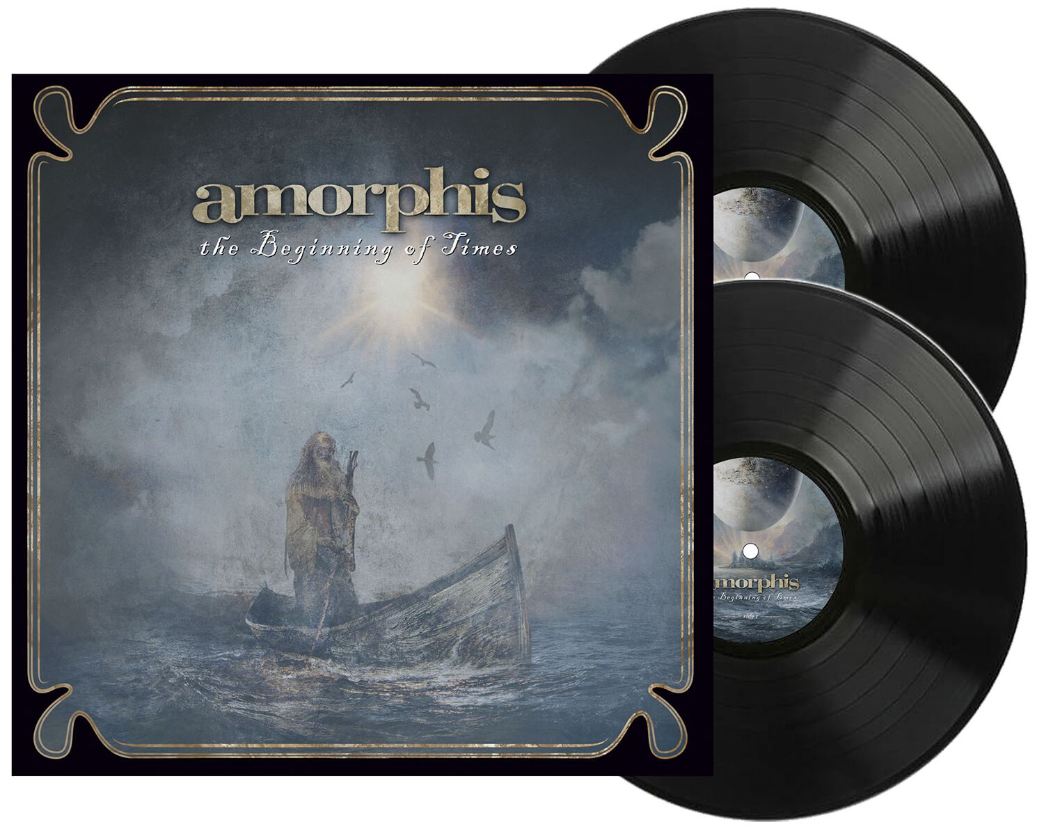 Image of Amorphis The beginning of times 2-LP schwarz