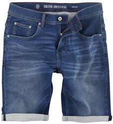 Superflex Denim Shorts Flax Blue