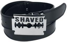 Gürtel mit Shaved-Schnalle