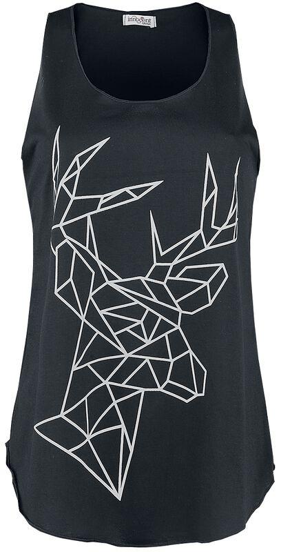 Geometric Deer Vest
