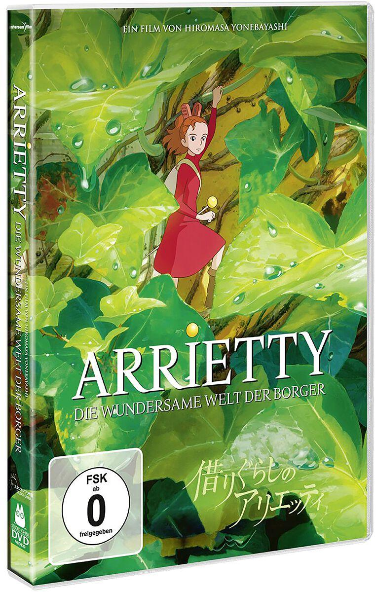 Image of Arrietty - Die wundersame Welt der Borger Studio Ghibli - Arrietty - Die wundersame Welt der Borger DVD Standard