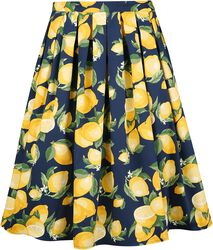 Lemon Pleat Skirt