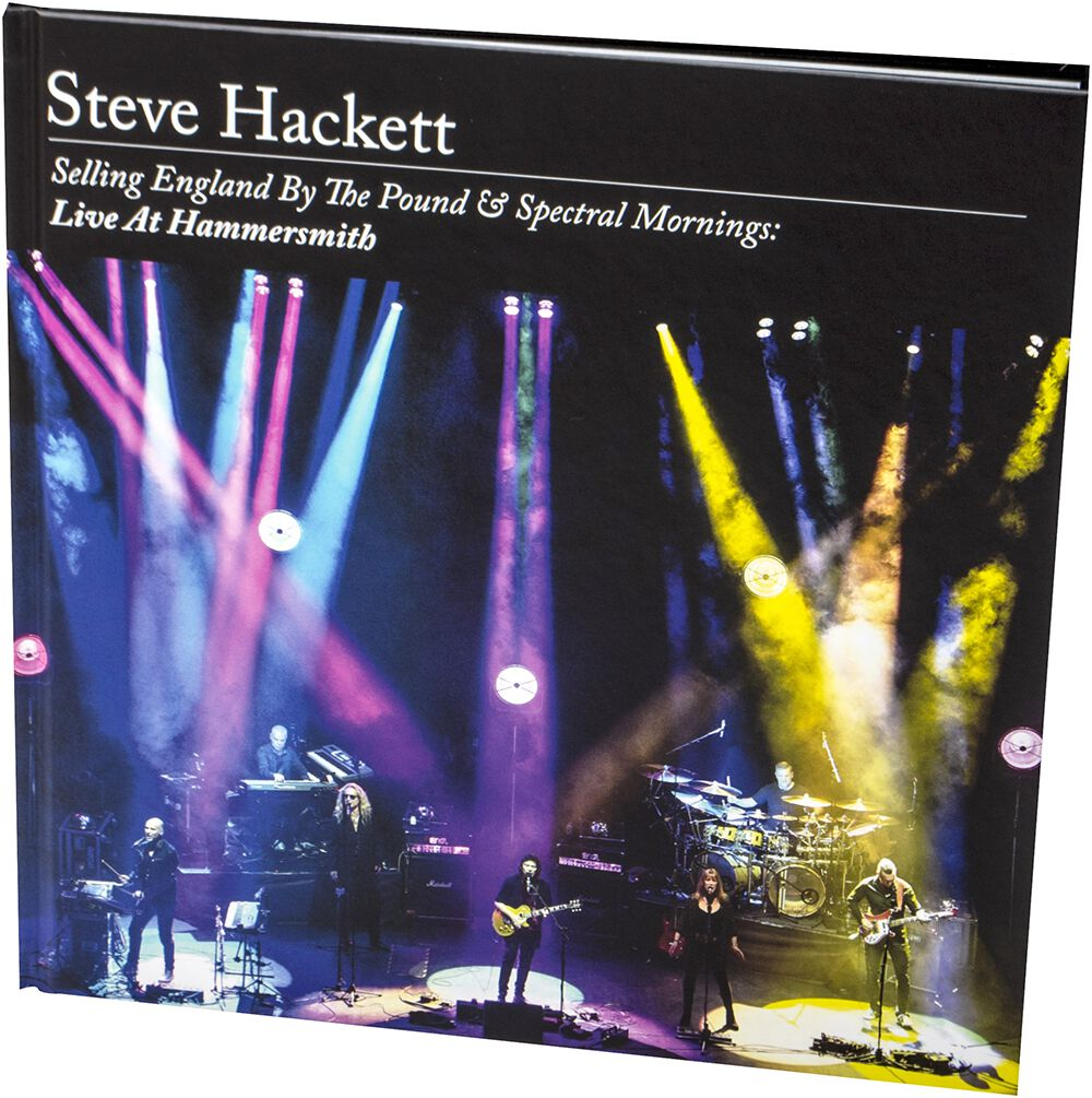 Image of Steve Hackett Selling England By The Pound & Spectral Mornings: Live At Hammersmith 2-CD & DVD & Blu-ray Standard