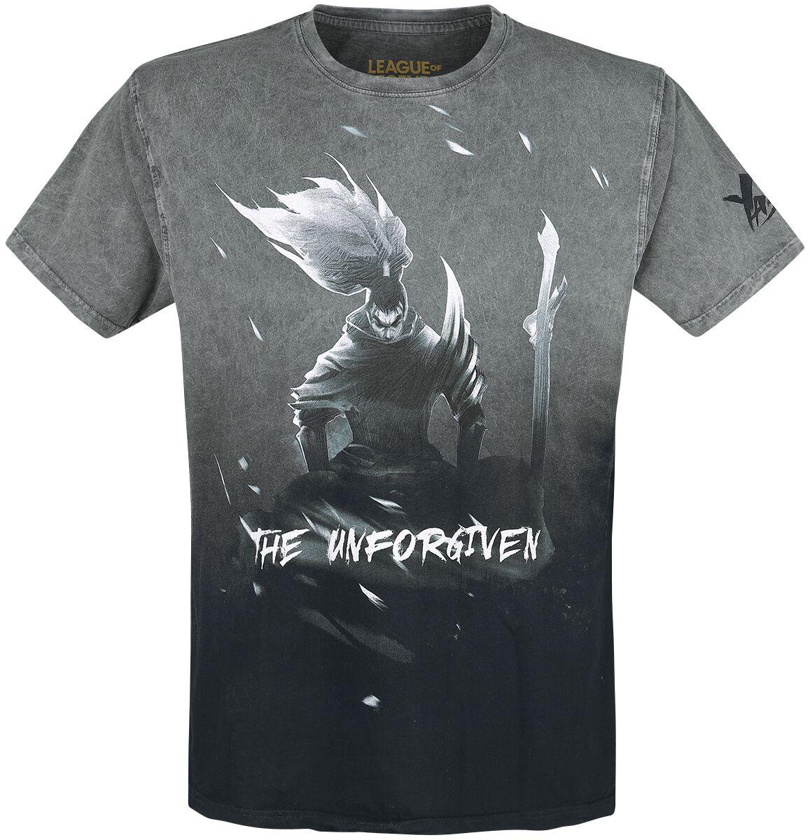 League Of Legends Yasuo T-Shirt grau M415840