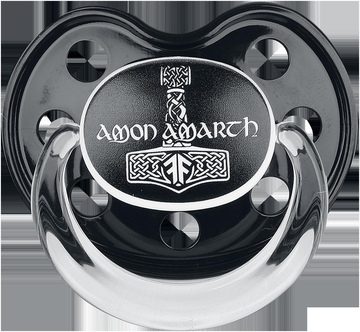 Amon Amarth - Thors Hammer - Schnuller - schwarz