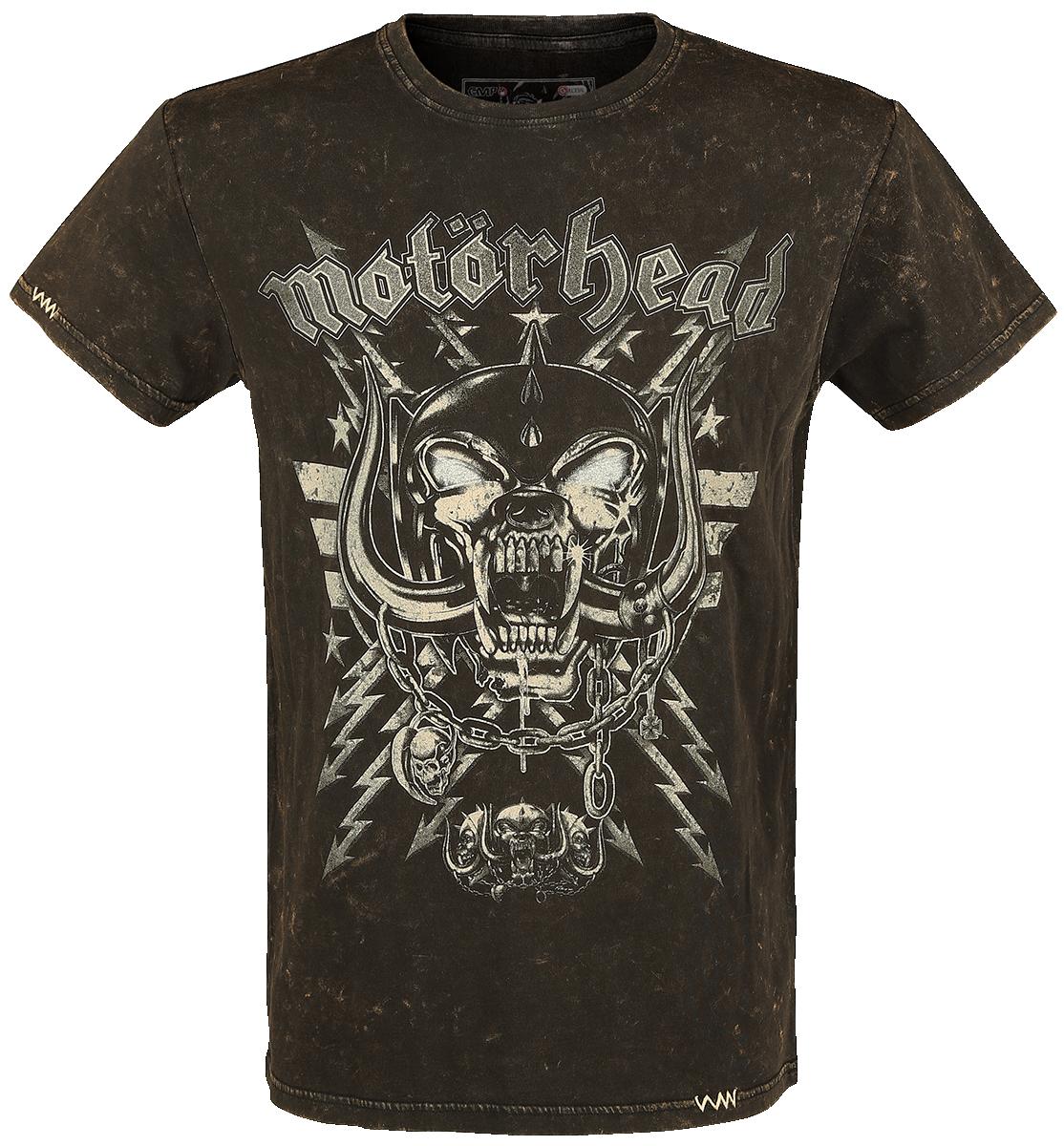 Motörhead -  - T-Shirt - brown image