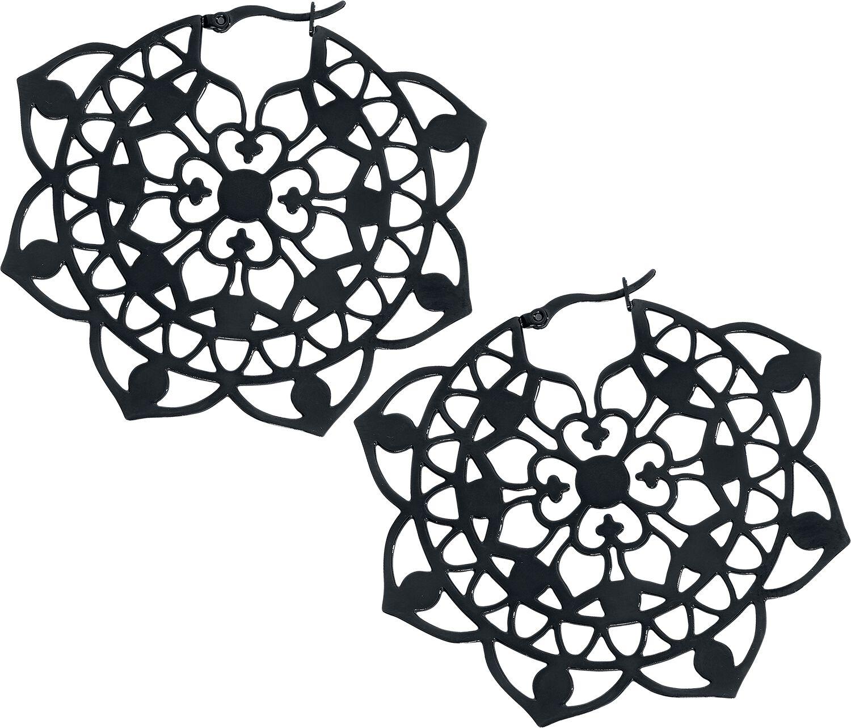 Ohrringe - Wildcat Floral Hoops Ohrring Standard  - Onlineshop EMP