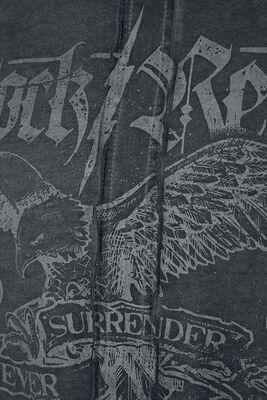 Langarmshirt mit detailreichen Prints
