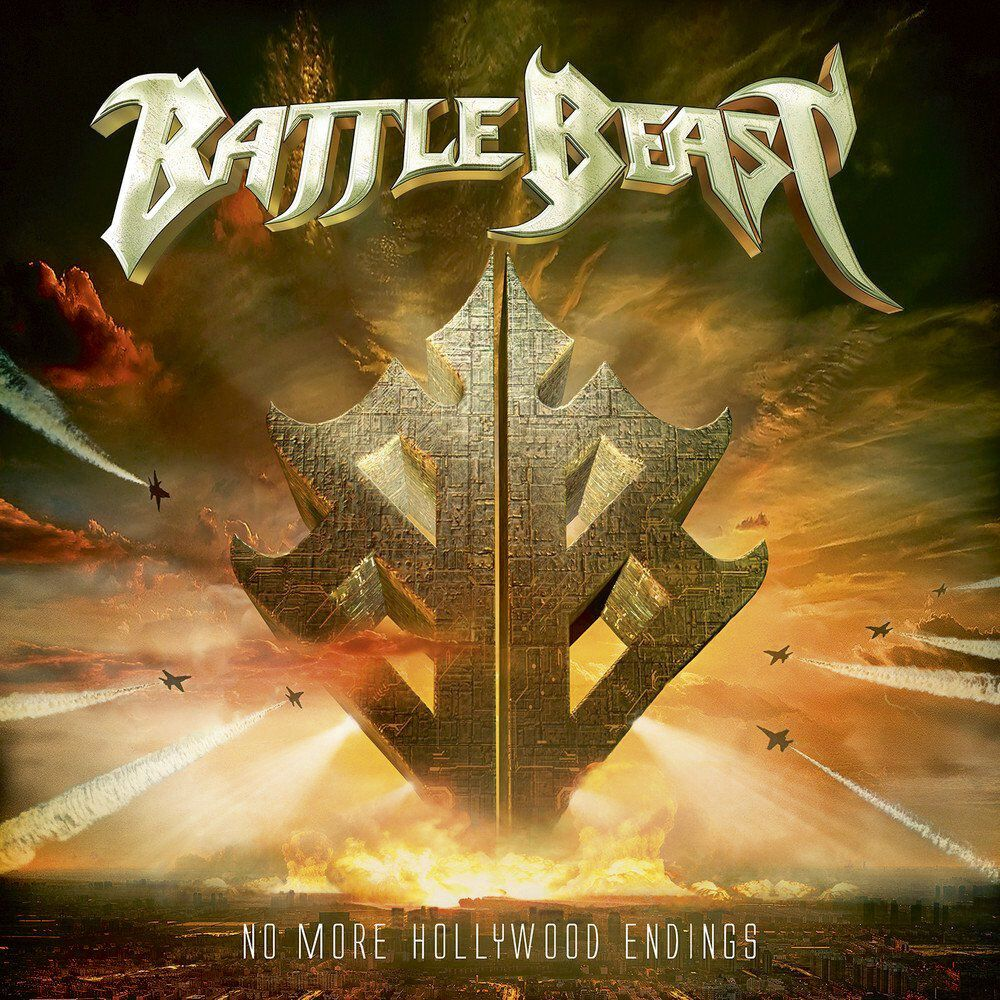 Image of Battle Beast No more Hollywood endings CD Standard