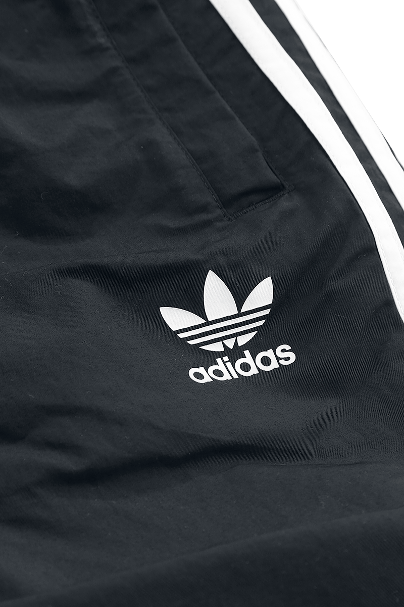 Image of Adidas 3-Stripes Swim Badeshorts schwarz/weiß