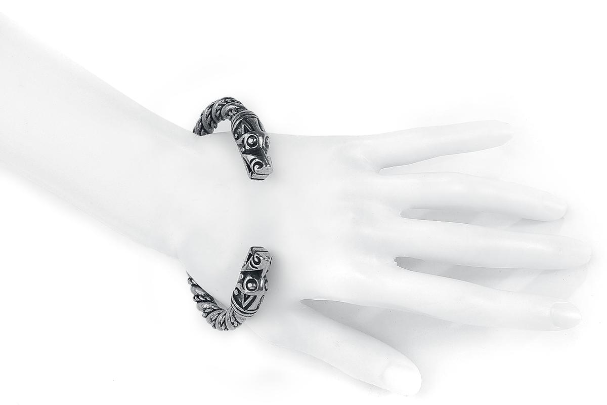 Image of Asgard Large Dragon Bracelet Armreif silberfarben